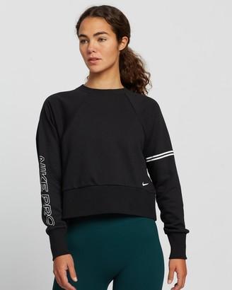 Nike Pro Dri-Fit Get Fit Fleece Crew