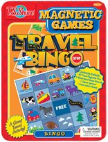 T.S. Shure Travel Bingo Magnetic Game Tin