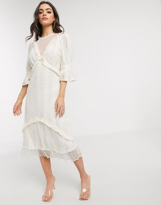 Stevie May Gallery lace midi dress