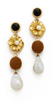 Lizzie Fortunato Hill Tribe Column Earrings