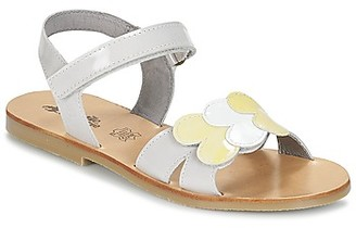 Citrouille et Compagnie IJOES girls's Sandals in White