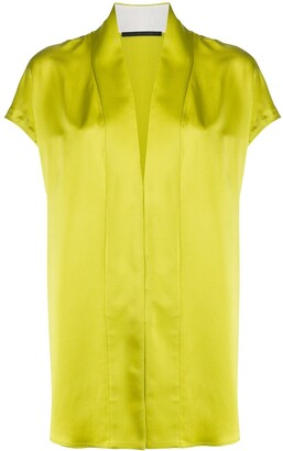 Haider Ackermann V-Neck Blouse