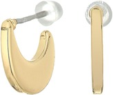 Lauren Ralph Lauren Fringe Worthy Small Graduated Hoop Earrings