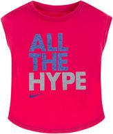 Nike All Hype Short-Sleeve Tee - Toddler Girls 2t-4t
