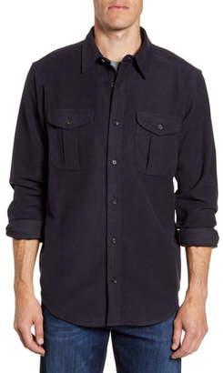 Filson Seattle Regular Fit Button-Up Moleskin Shirt