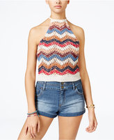 American Rag Crocheted Crop Top, Only at Macy's