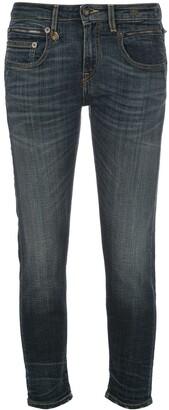 R 13 Biker Boy skinny jeans