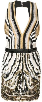 Gucci Pre-Owned Open Back Sequinned Dress