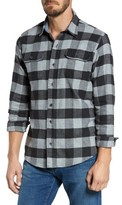 Tailor Vintage Men's Buffalo Check Flannel Shirt