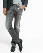 Express slim leg slim fit black wash jeans