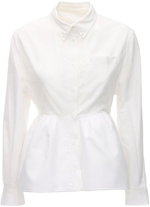 pushBUTTON Structured Cotton Shirt