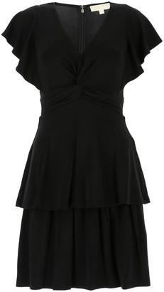 MICHAEL Michael Kors Ruffle Tiered Mini Dress