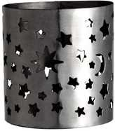 H&M Metal Tealight Holder - Silver/stars