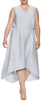 Rachel Roy Flutter Drape Dress