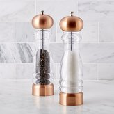 Crate & Barrel Copper Salt and Pepper Mills