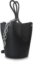 Alexander Wang Black Leather Roxy Large Bucket Bag
