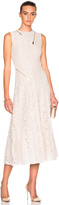 Stella McCartney Rose Lace Dress in Ivory