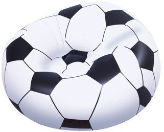 Up, In & Over? Bestway Beanless Inflatable Soccer Ball Chair