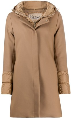 Herno Zip-Front Coat