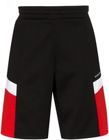 Givenchy colour-blocked logo shorts