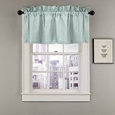 Veratex The Madison Window Collection 100% Linen Made in the USA Modern & Elegant Tailored Window Valance, Mineral Blue