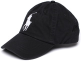Polo Ralph Lauren Holiday Black Cotton Baseball Cap