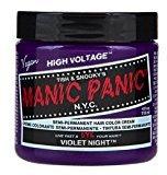 Manic Panic Hair Dye Classic Cream Violet Night Purple Free Gloves by