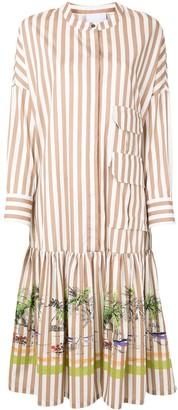 Erika Cavallini Gilda striped print dress