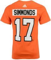 adidas Men's Wayne Simmonds Philadelphia Flyers Silver Player T-Shirt