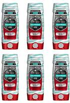 Old Spice Hardest Working Collection Hydro Body Wash,16 Fluid Ounce (Pack of 6)