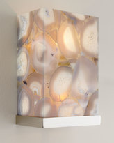 John-Richard Collection Illuminated Agate Shade 2-Light Sconce