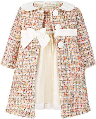 Blueberi Boulevard Baby Girls 2-Pc. Tweed Coat & Dress Set