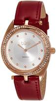 Burgi Women's BUR122BUR Analog Display Japanese Quartz Red Watch