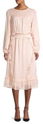 Walter Baker Ariella Dotted Blouson Dress