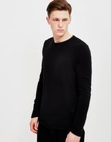 Edwin Terry Long Sleeved T-Shirt Black