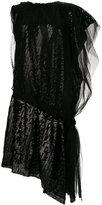 Maison Margiela asymmetric sequin dress