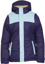 686 Violet Color Block Ella Insulated Jacket - Girls