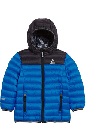 Gerry Mckinley Quilted Down Hooded Jacket