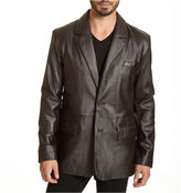 JCPenney Excelled Leather Excelled Lambskin Blazer - Big & Tall