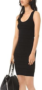 MICHAEL Michael Kors Striped-Texture Dress