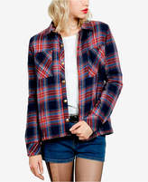 Volcom Juniors' Cotton Plaid Jacket