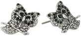 Marc Jacobs Charms Owl Studs Earrings