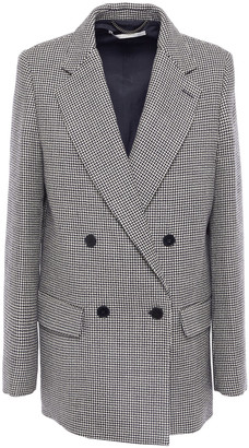 Stella McCartney Milly Oversized Double-breasted Wool-tweed Blazer