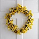 Crate & Barrel Forsythia Wreath