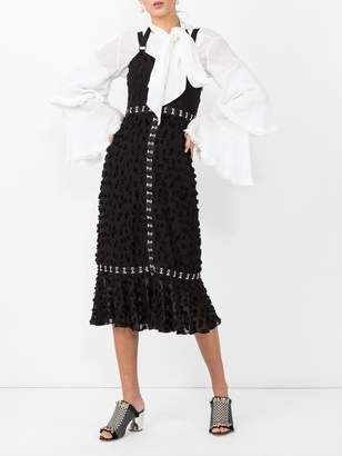 Proenza Schouler jacquard sleeveless dress