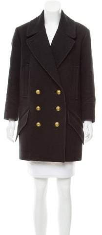 Isabel Marant Double-Breasted Wool Coat