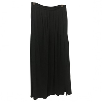 Max Mara Weekend Anthracite Wool Skirt for Women