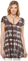 Culture Phit Galilea Strappy Tie-Dye Tunic Women's Blouse