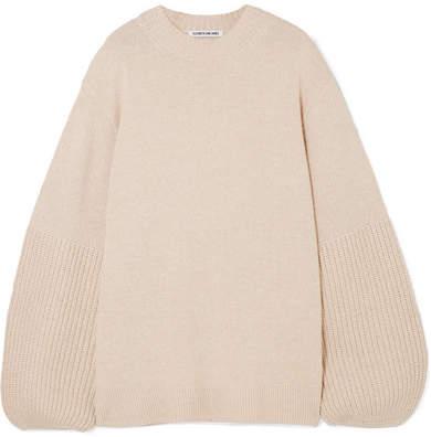 Elizabeth and James Aida Stretch-knit Sweater - Sand