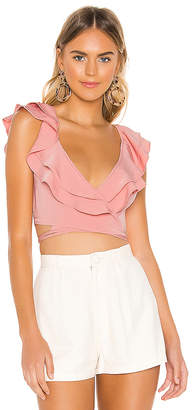 superdown Cynthia Wrap Top